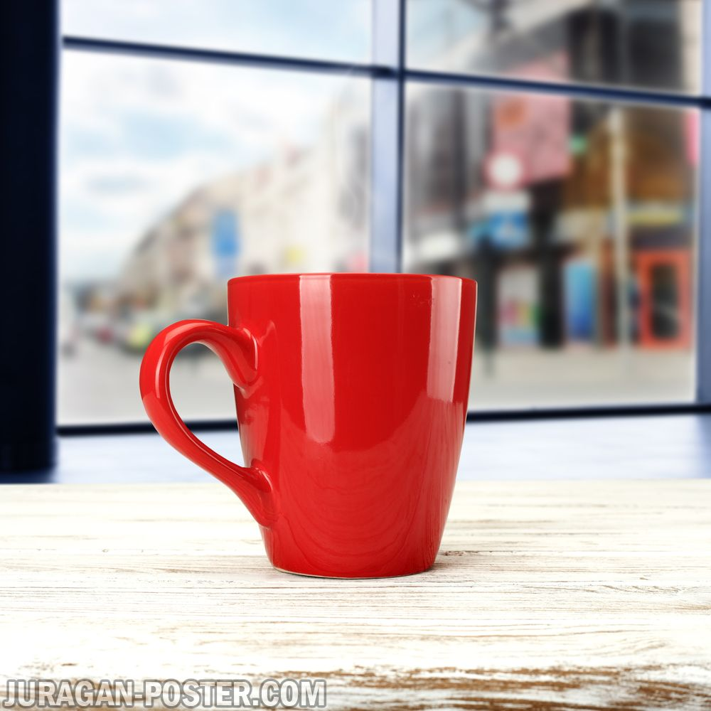 Collection of coffee cup girl drinks coffee – Jual Poster