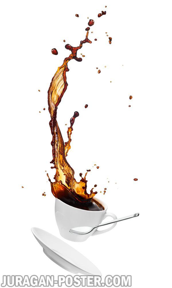 Splashing Coffee Jual Poster Di Juragan Poster