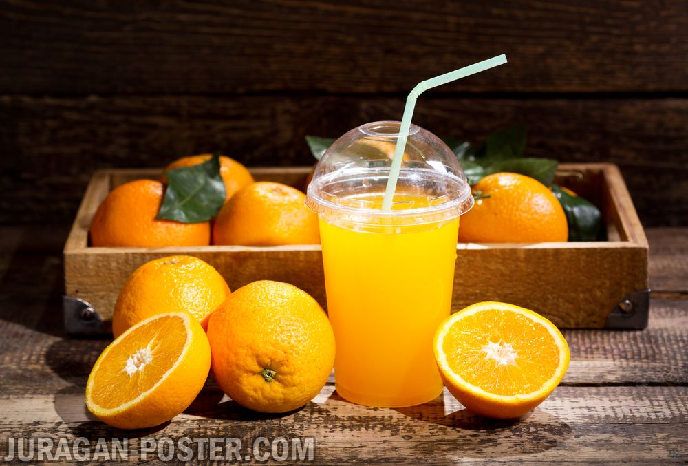Fresh Juices With Fruits And Vegetables Jual Poster Di