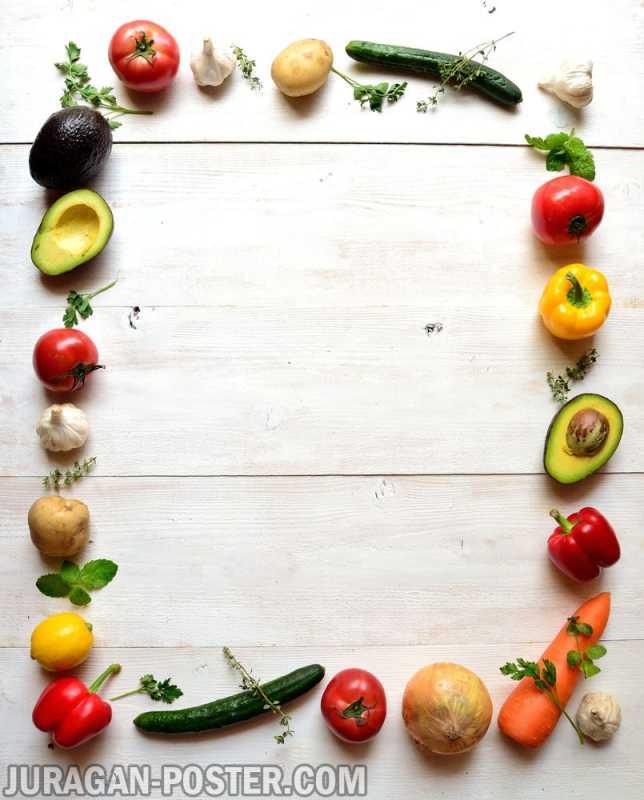 Vegetables Jual Poster Di Juragan Poster