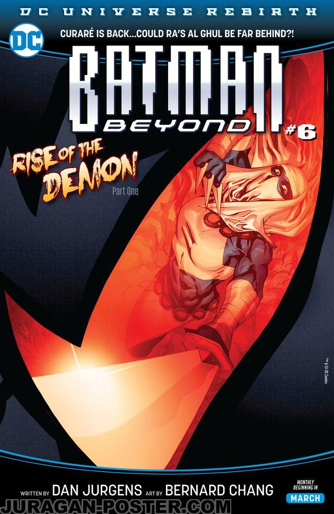 Batman Beyond Comic Cover Jual Poster Di Juragan Poster