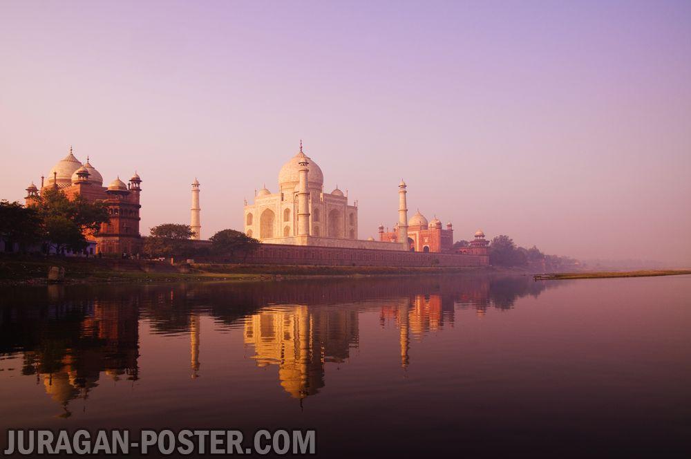jual poster pemandangan kota india