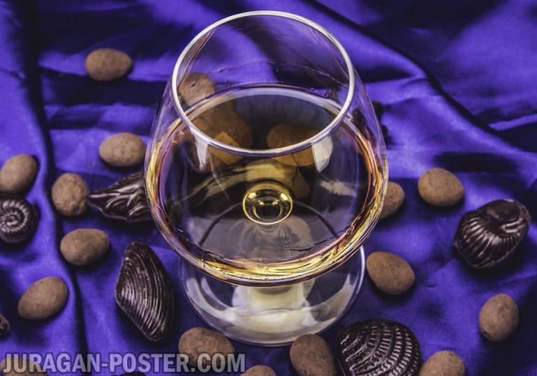 jual poster gambar minuman Brandy