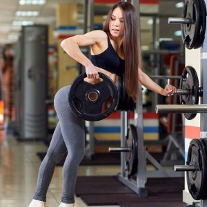 jual gambar poster fitness jogging