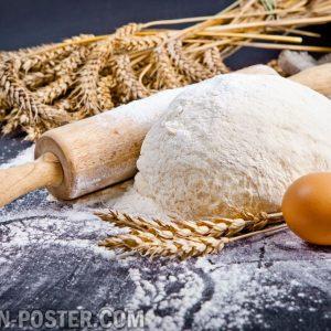 jual poster gambar Tepung / Flour