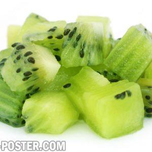 jual poster gambar buah kiwi