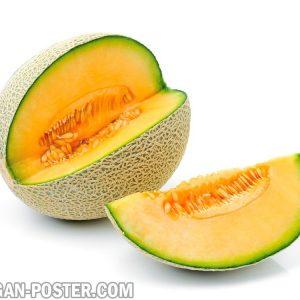 jual poster gambar buah Melon
