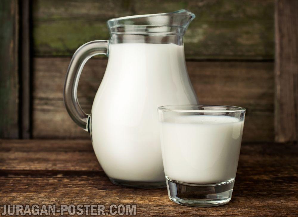 jual poster gambar minuman susu 2