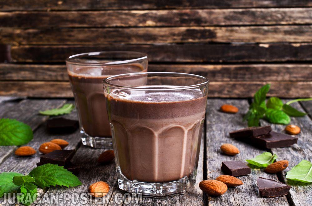 jual poster gambar minuman smoothie Cocoa