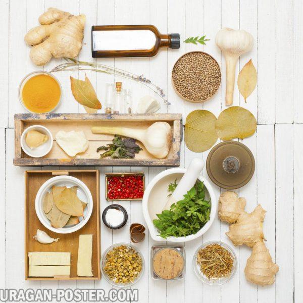 jual poster gambar Spices / bumbu-bumbuan