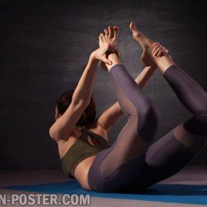 jual poster gambar Yoga practice