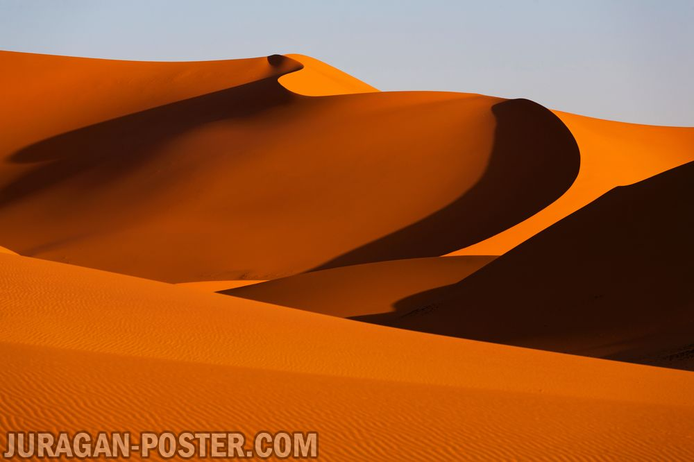 jual poster pemandangan alam padang gurun pasir Desert