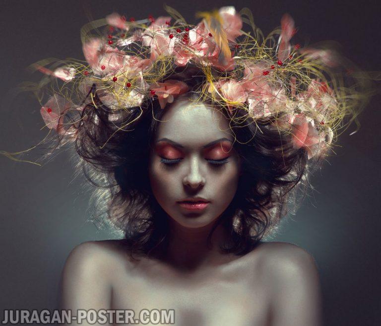 jual poster gambar Hair and Beauty