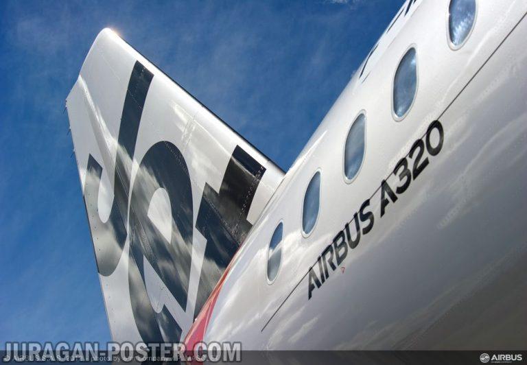 jual poster gambar pesawat Jetstar