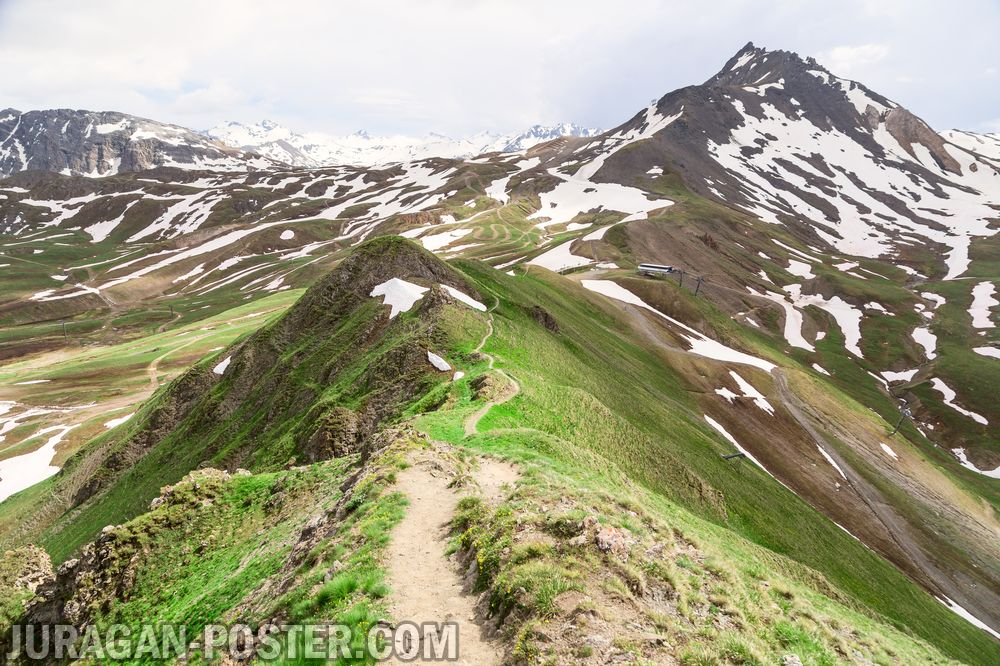 Jual poster gambar pemandangan alam pegunungan mountain 05