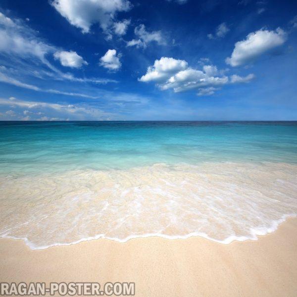 Jual poster gambar pemandangan alam laut ocean 01