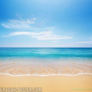 jual poster gambar pemandangan alam laut sea 02