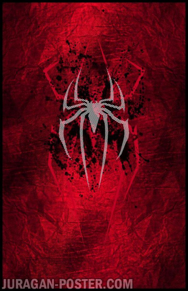 jual poster gambar Spiderman kartun komik