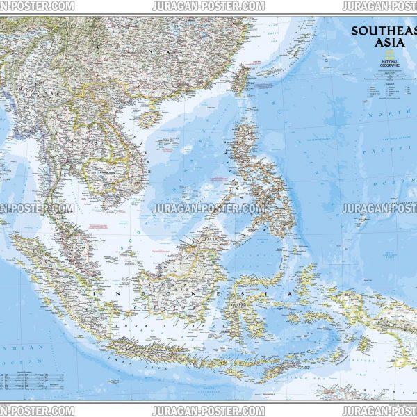 Jual poster peta National Geographic Maps 01