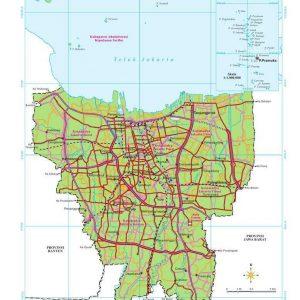 Jual Peta Provinsi Indonesia Lengkap
