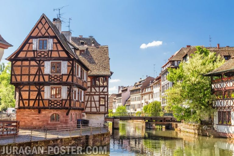 Jual poster Pemandangan Kota di Eropa