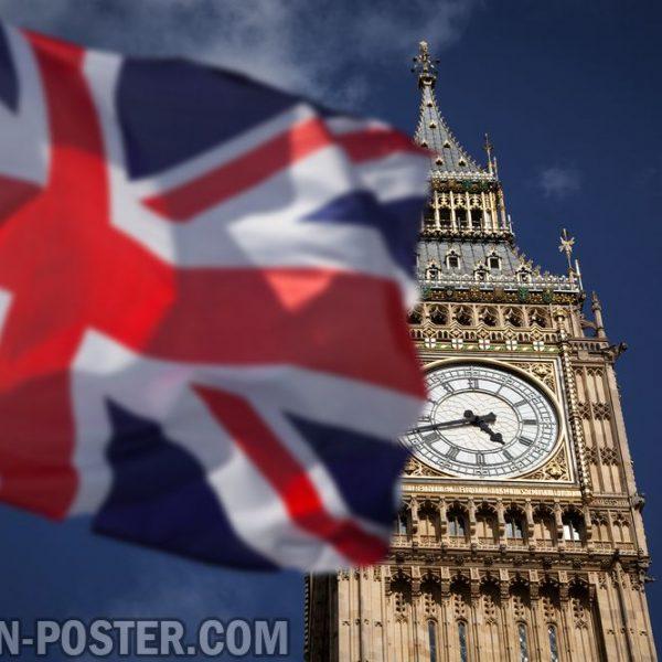 Jual poster Pemandangan Kota London Inggris