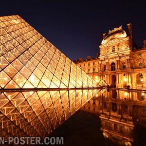 Jual poster Pemandangan Kota Paris