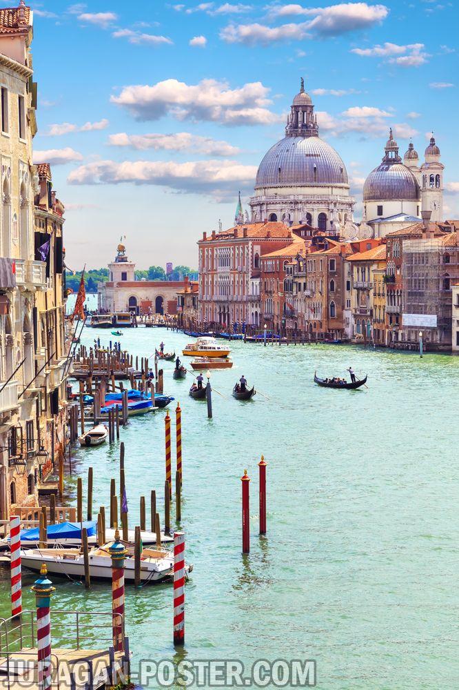 Jual poster Pemandangan Kota Venice
