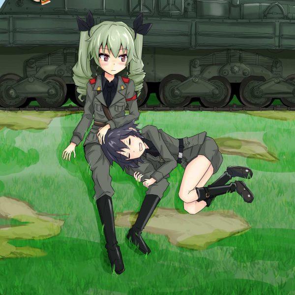 Jual poster anime Girls Und Panzer 02
