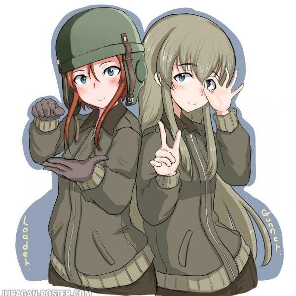 Jual poster anime Girls Und Panzer 01