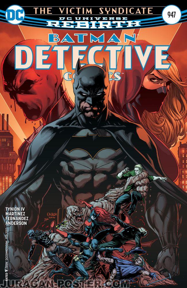 Batman Detective Comic Cover