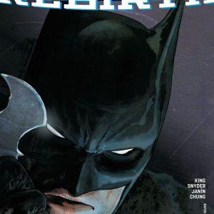 Batman Rebirth Comic Cover