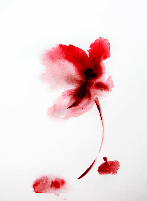 Simple Watercolor Flowers