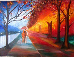 Lukisan Pemandangan yang Mudah Ditiru – Jual Poster di ...