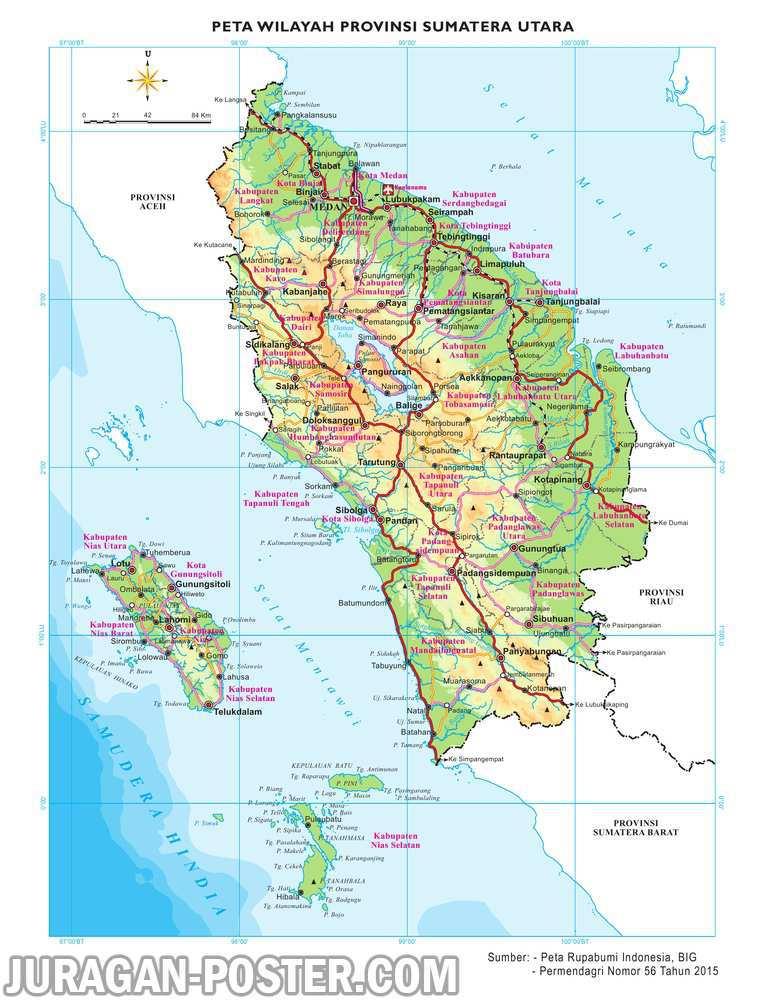 Peta 34 Provinsi Indonesia Jual Poster Di Juragan Poster
