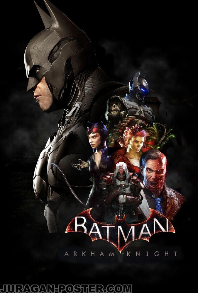 Batman Video Game – Jual Poster di Juragan Poster