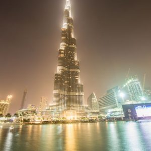 jual poster pemandangan kota arab
