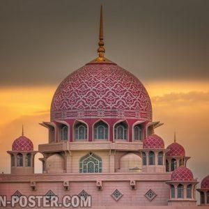 jual poster masjid putra jaya malaysia
