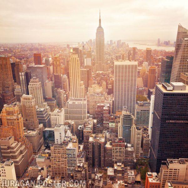 jual poster pemandangan kota new york
