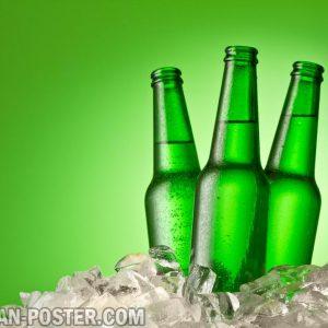 jual poster gambar minuman bir