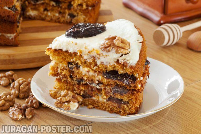 jual poster gambar makanan Cakes 02