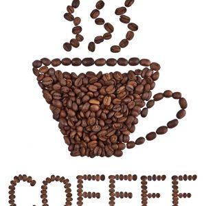 jual poster gambar tulisan kopi