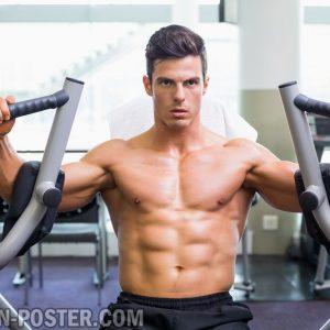jual gambar fitness pria