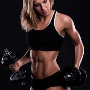 jual poster wanita fitness