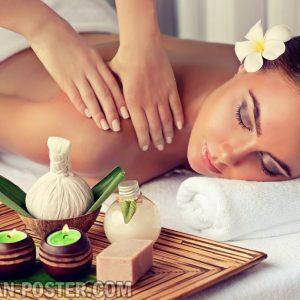 jual poster untuk Spa, Massage and Reflexyology
