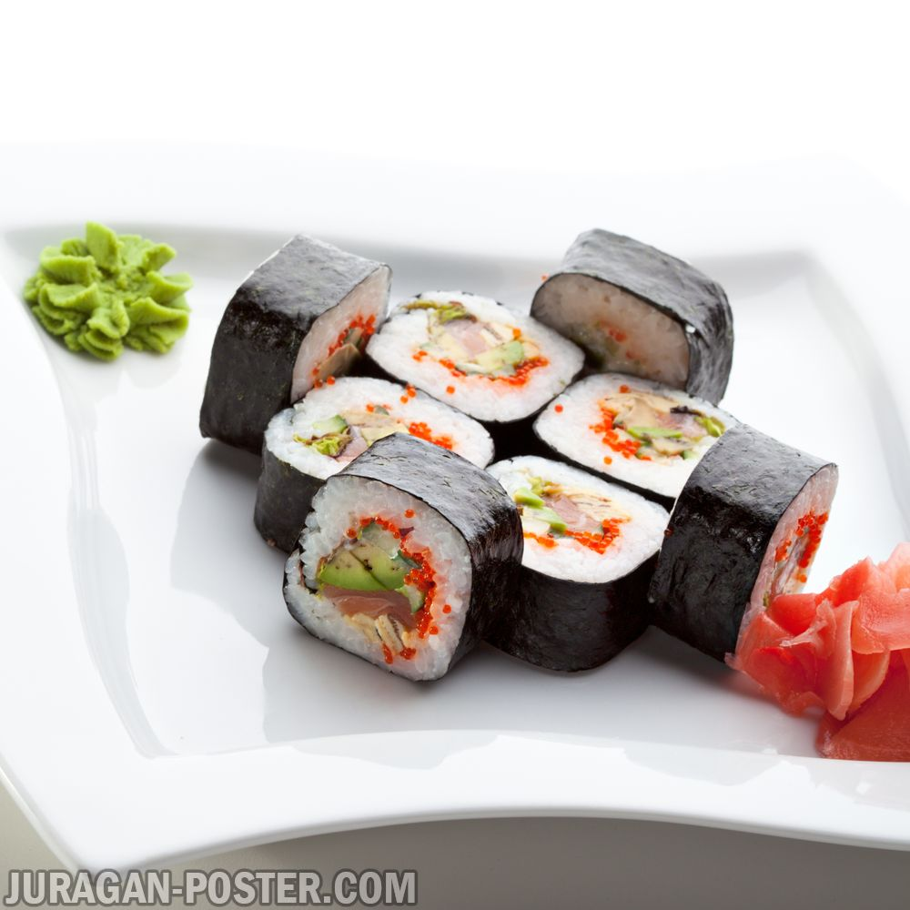 Sushi and other japanese food