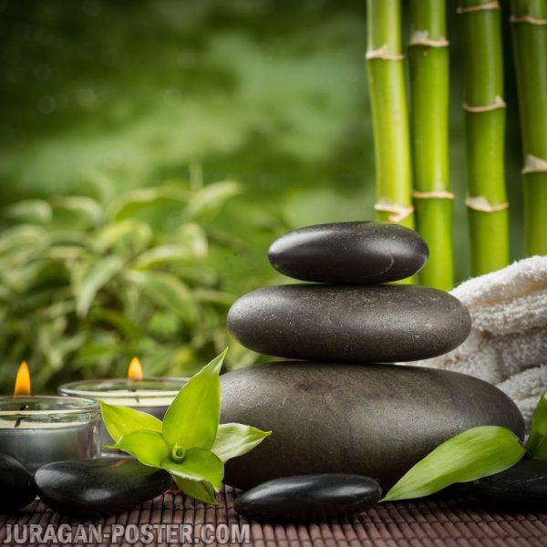 Jual poster gambar Zen Stone