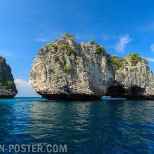 Jual poster gambar pemandangan alam pulau island 02