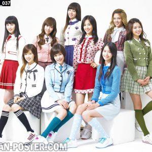 Jual Poster Girlband KPOP SNSD Girls Generation ukuran besar murah