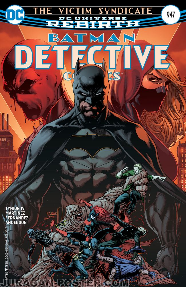 Batman Detective Comic Cover